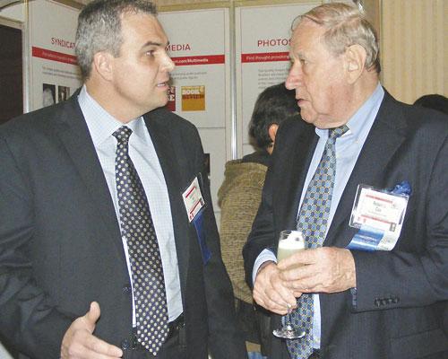 Gustavo Ick junto a Roberto Cox
